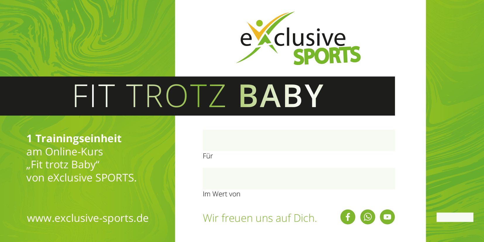 Fit trotz Baby Online